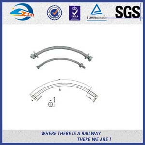 ISO Steel 45 High Tensile Black Railway Bolt for Fastening Rails